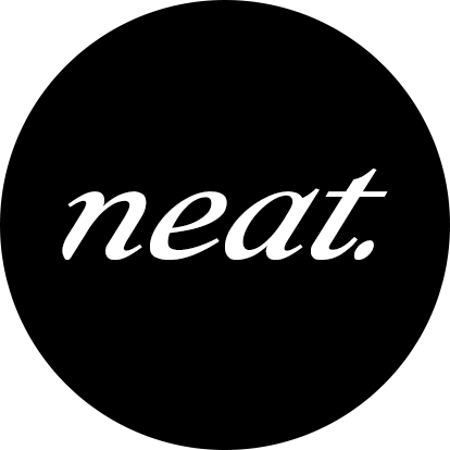 neat. LA | come sip with us Logo